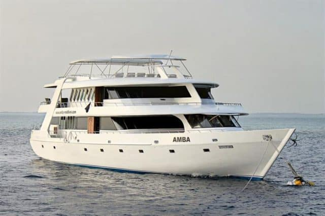 mv amba exterior liveaboard review