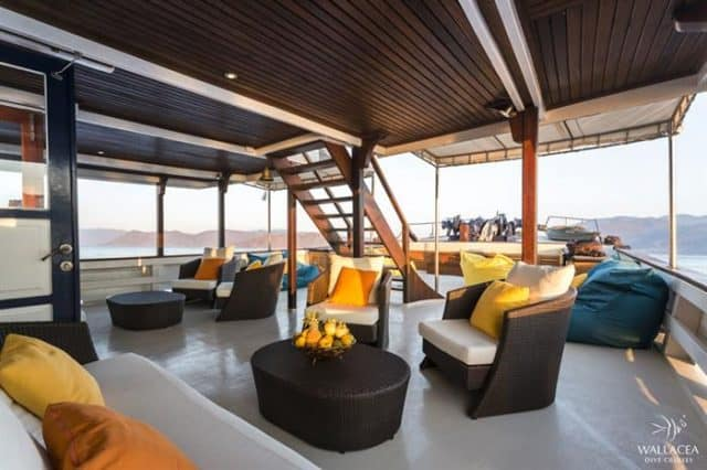 mv ambai relaxing area liveaboard review