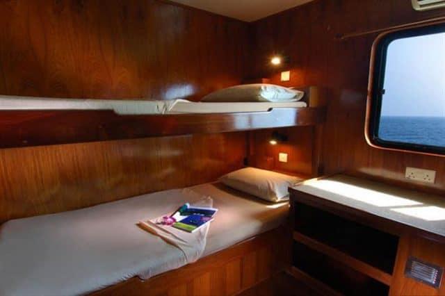 mv black manta ensuite cabins 3&4 liveaboard review