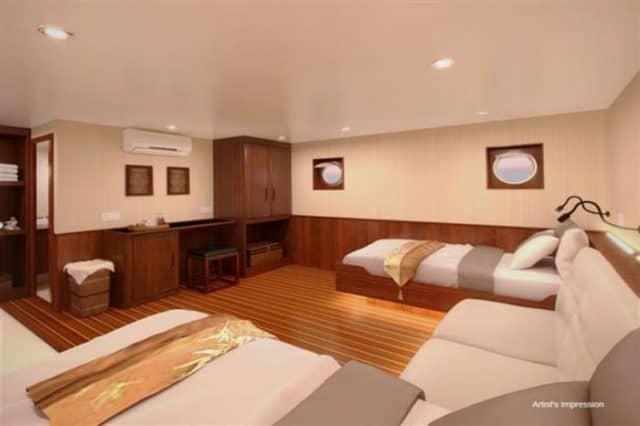mv blue manta twin cabin liveaboard review