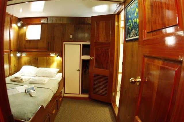 mv undersea hunter cabin liveaboard review