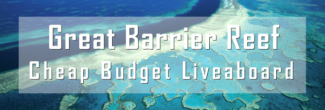 budget liveaboard great barrier reef