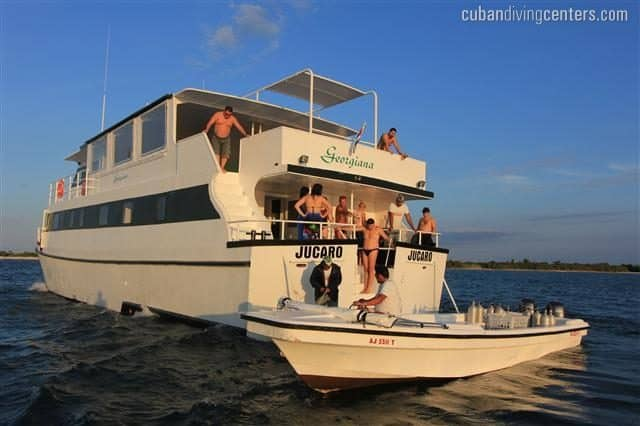 luxury liveaboard cuba georgiana