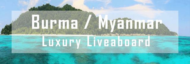 burma myanmar luxury liveaboard diving cruise