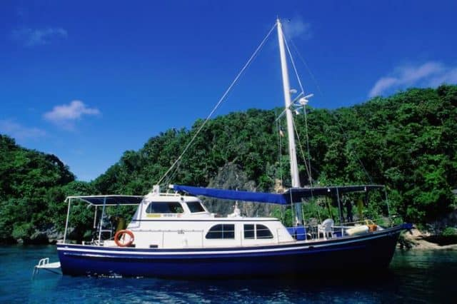 luxury liveaboard palau ocean hunter 1
