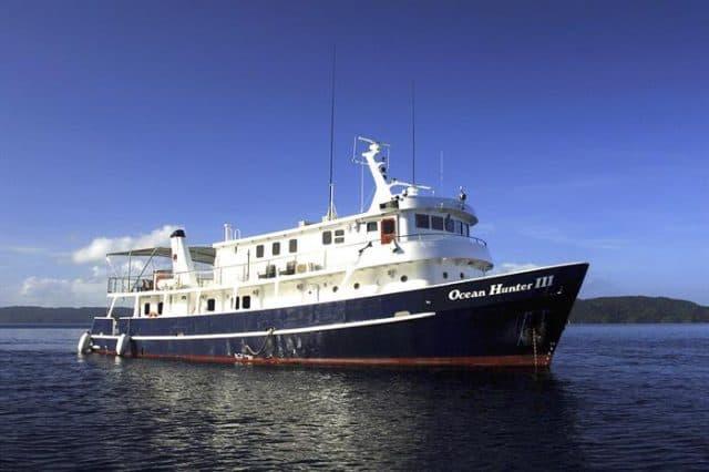 luxury liveaboard palau ocean hunter III
