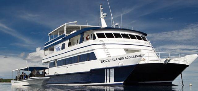 luxury liveboard palau rock island aggressor