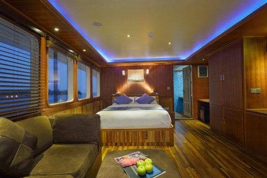 master cabin maldives princess liveaboard diving cruise