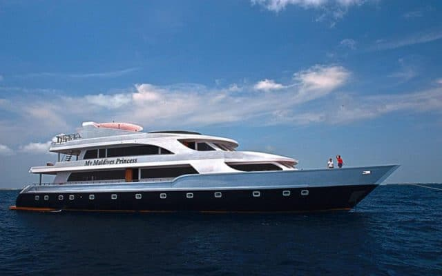 maldives princess liveaboard diving cruise