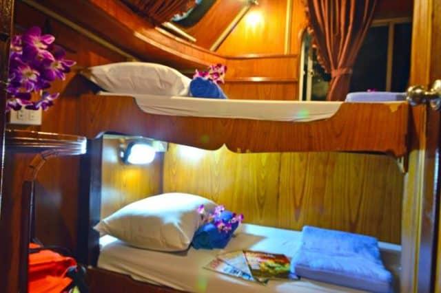 twin cabin manta queen 6 liveaboard thailand similan richelieu rock