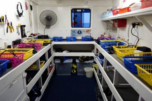 camera room bilikiki liveaboard diving cruise solomon islands