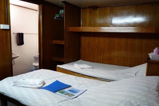 twin cabin bilikiki liveaboard diving cruise solomon islands