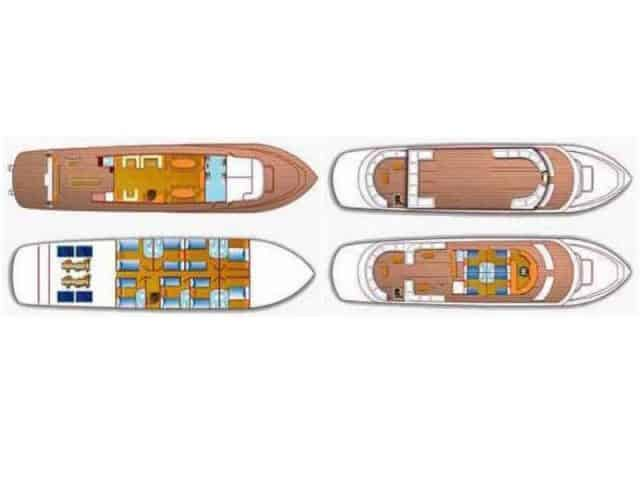 grand sea serpent liveaboard red sea deck plan
