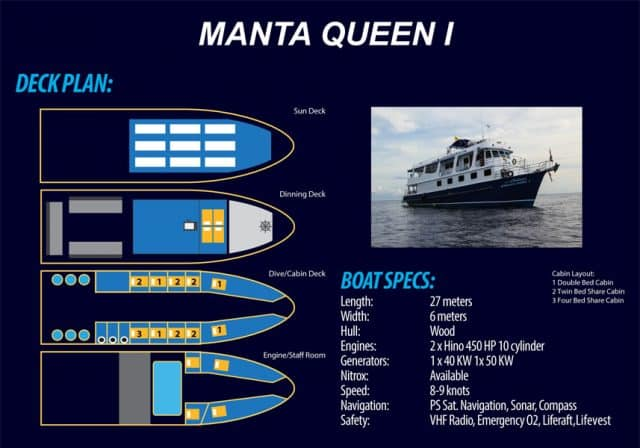manta queen 1 liveabooard diving cruise similan islands