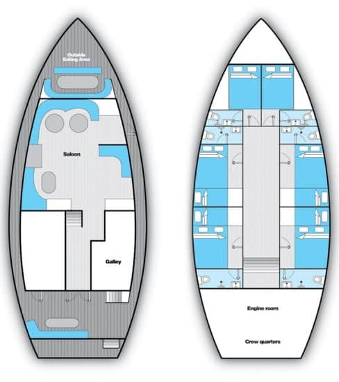 sea spirit liveaboard maldives deck plan