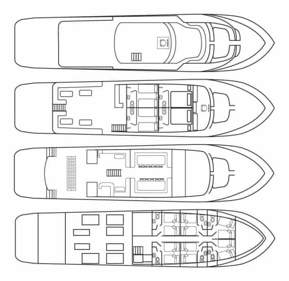 deck plan amelia liveaboard diving red sea