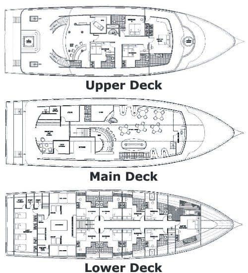 deck plan emperor orion liveaboard diving maldives