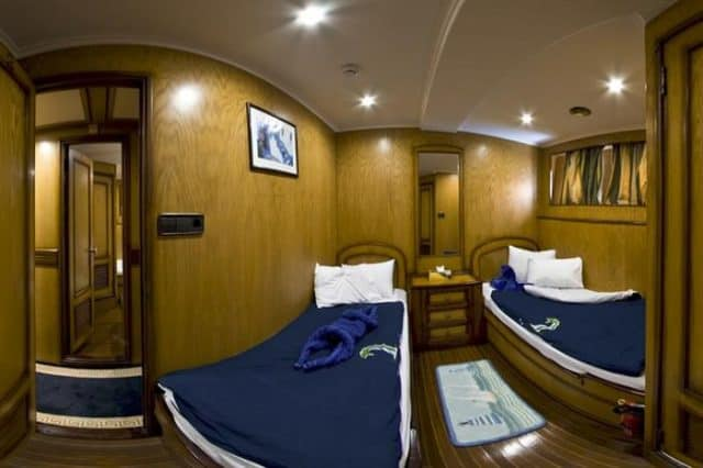 twin cabin my excellence liveaboard red sea diving