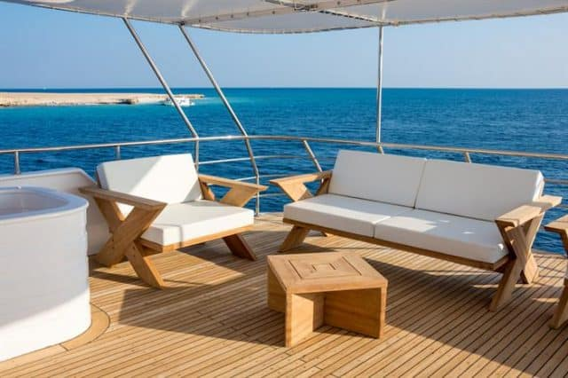 outdoor lounge lucy liveaboard diving djibouti indian ocean