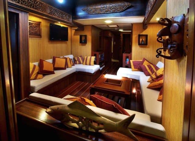 interior raja laut charter liveaboard indonesia thailand andaman sea