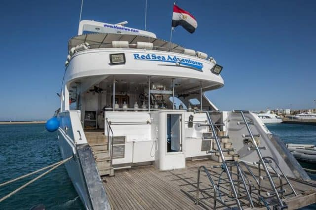 dive deck red sea adventurer liveaboard diving