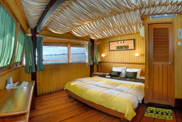 double cabin sea safari VII liveaboard diving indonesia