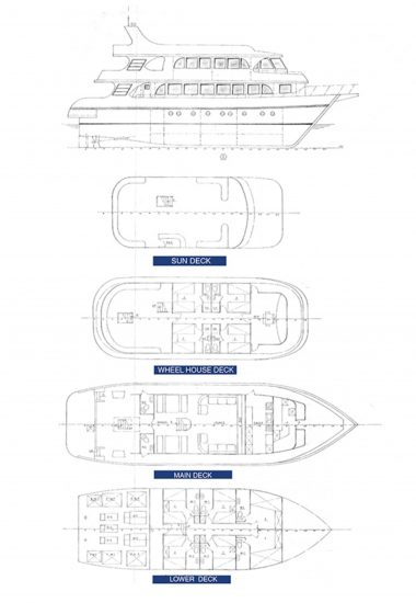 deck plan south moon liveaboard diving red sea