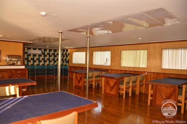 dining room sri lanka aggressor liveaboard diving cruise