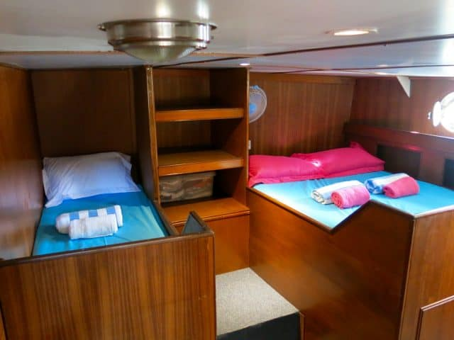 cabin empress liveaboard indonesia diving cruise