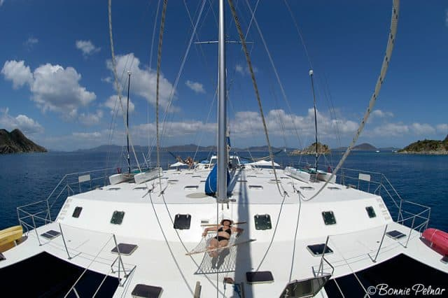 top deck cuan law liveaboard diving sailing british virgin islands