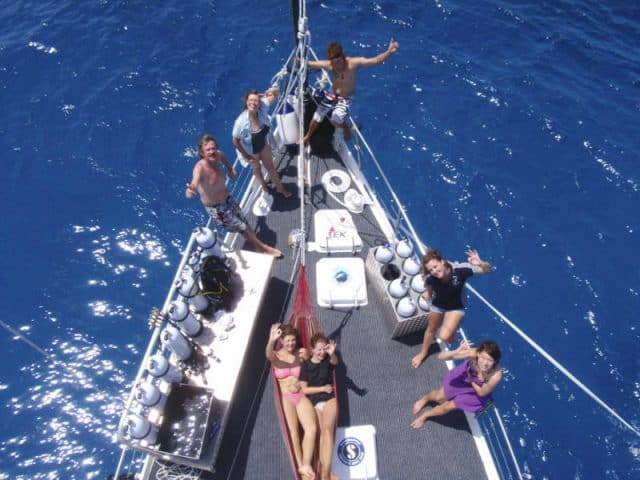 coral sea dreaming liveaboard diving great barrier reef