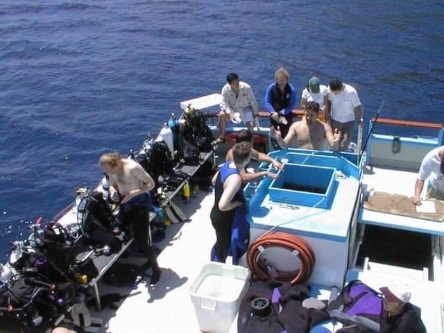 great escape liveaboard diving california channel islands