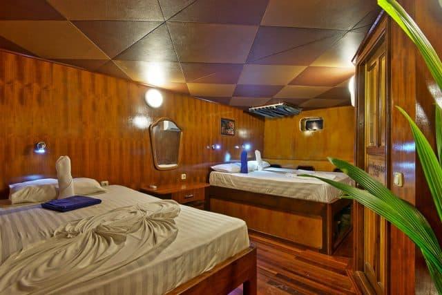 cabin nautilus two maldives liveaboard scuba diving