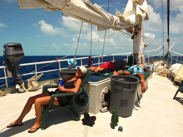 Juliet Sailing Amp Diving Liveaboard Review Bahamas