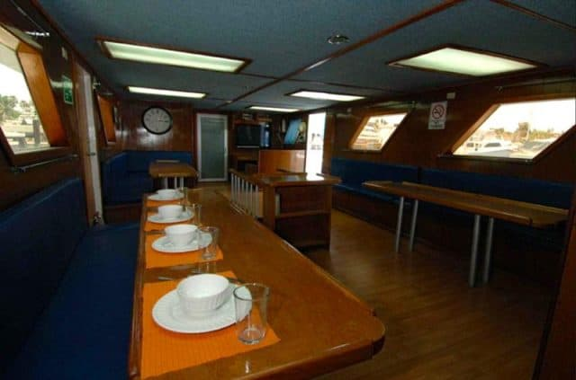 narval liveaboard charter diving mexico sea of cortez