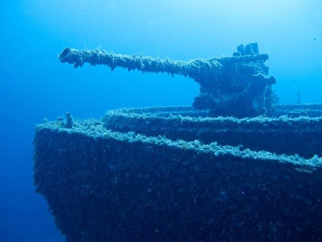 scuba diving wrecks otaly