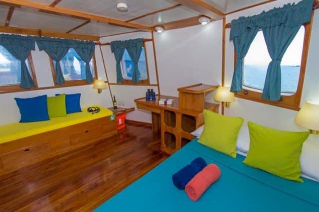 danubio azul liveaboard diving galapagos cruise