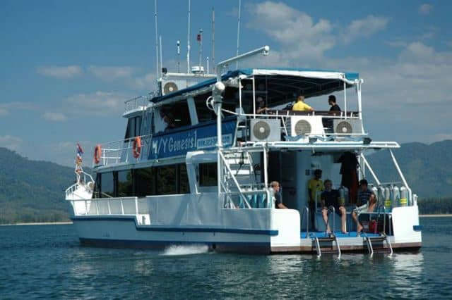 andaman sea genesis i liveaboard diving thailand