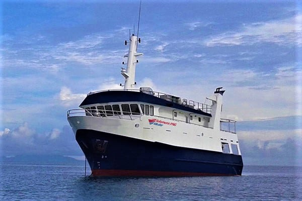solomon PNG master liveaboard diving cruise