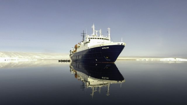 scuba diving artic liveaboard m/s ortelius