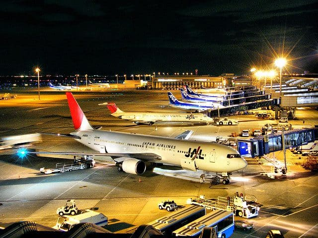 JAL & ANA - Chubu International Airport Photograph by Emran Kassim