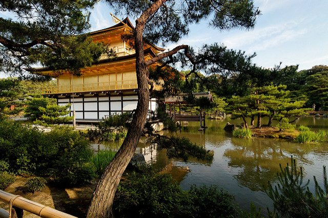 Kinkaku-ji or Golden Pavillion in Kyoto, Japan Photograph by syvwlch