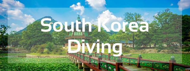 south korea scuba diving destination