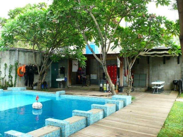 best diving center in jakarta
