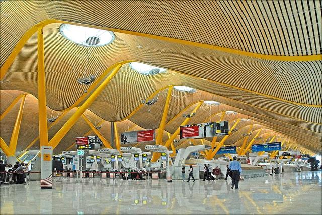 Barajas Airport Madrid Spain Photo by Jean-Pierre Dalbéra