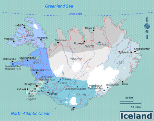 Iceland Travel Tips – Things to do, Map and Best Time to visit Iceland