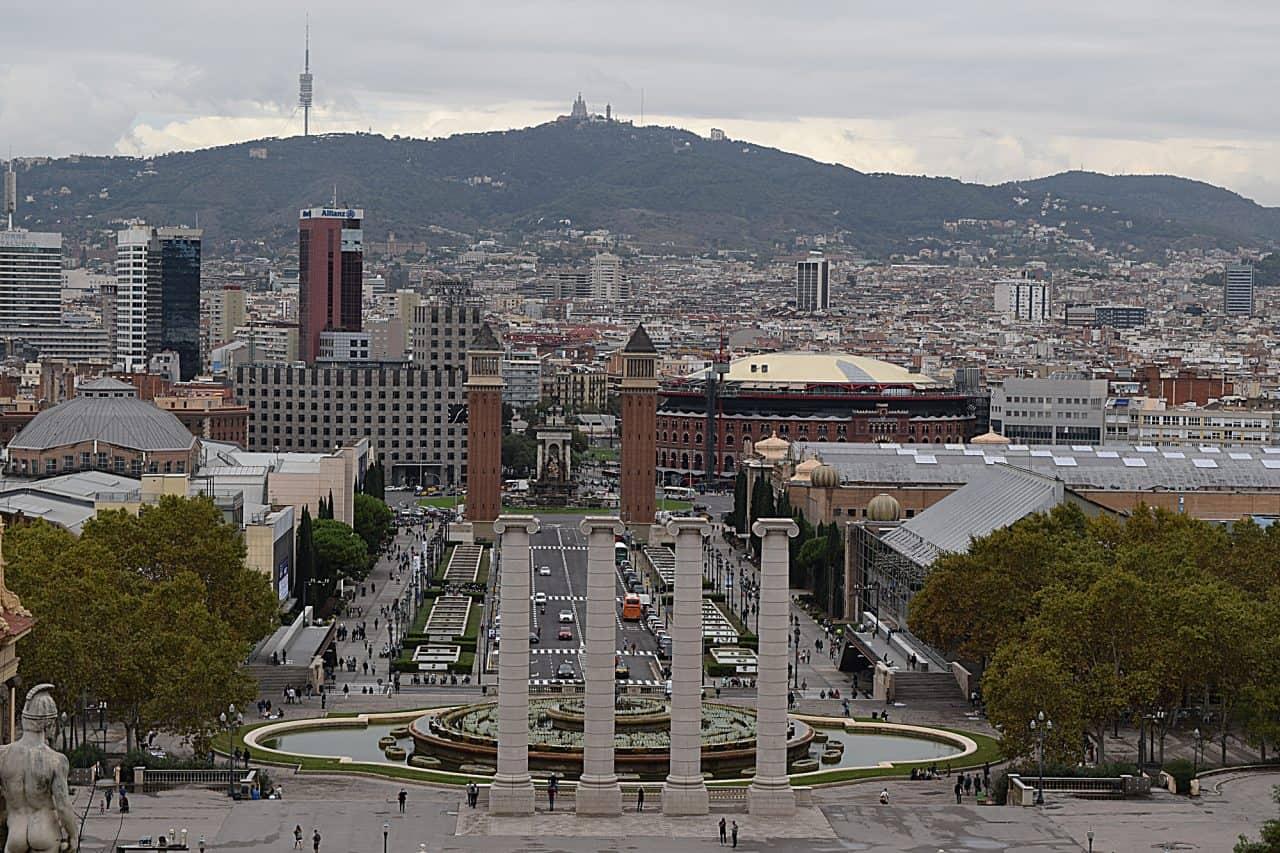 Barcelona Spain City Center Photograph by Charles Davis
