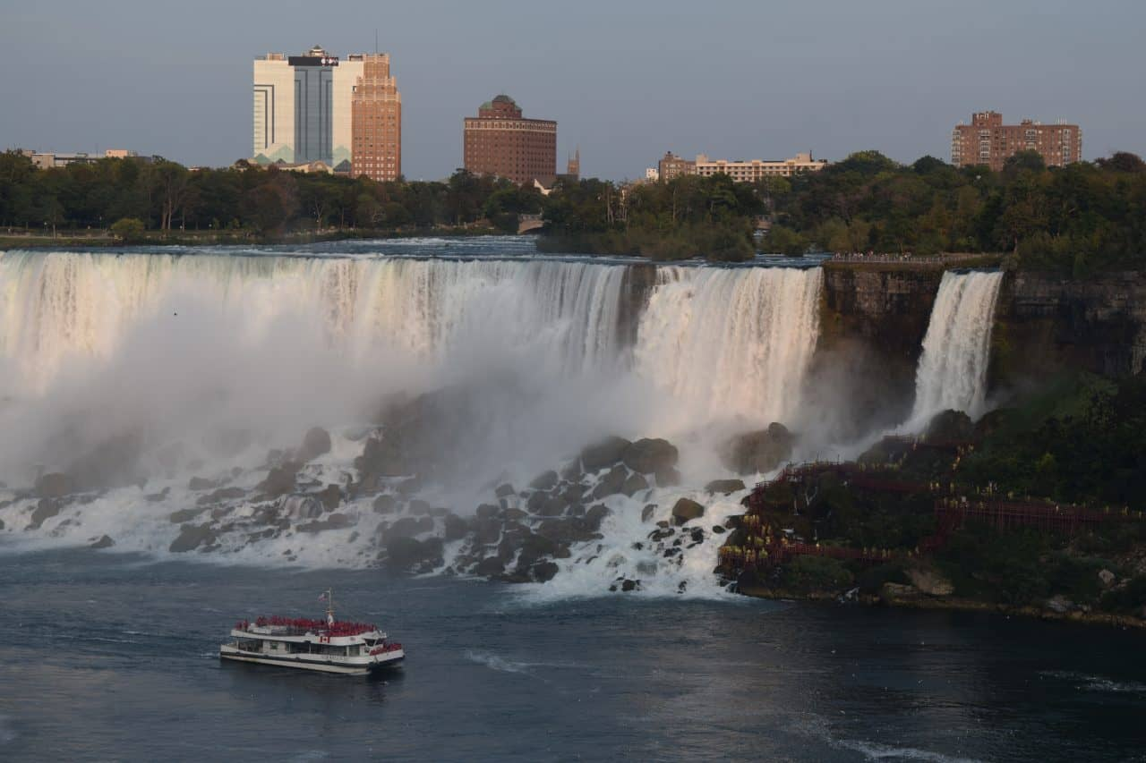 The American Falls, Photographed from Niagara Falls Ontario Canada by Charles Davis