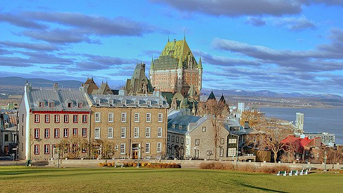 Quebec City Canada photo by Michael McDonough