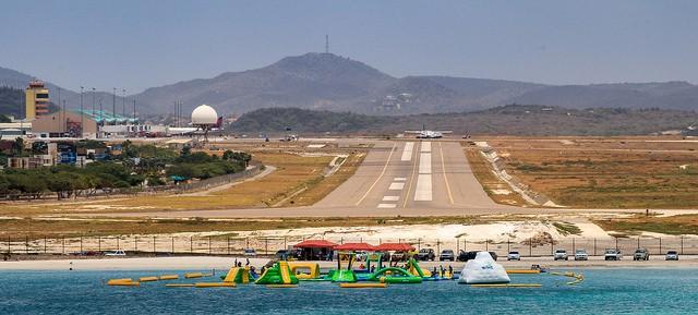 Aruba airport photo by john cook
